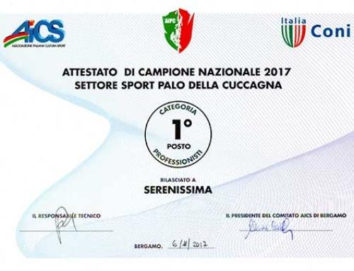 Serenissima Campioni Nazionali 2017